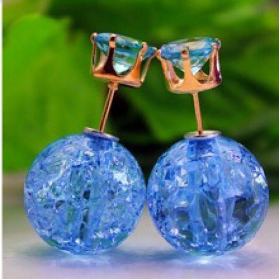 Double side earrings Brand new in package ✔️✔️NO TRADES ✅✅BUNDLE & SAVE Jewelry Earrings
