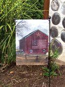 American Barn Garden Flag  $11.00