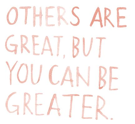 be greater.