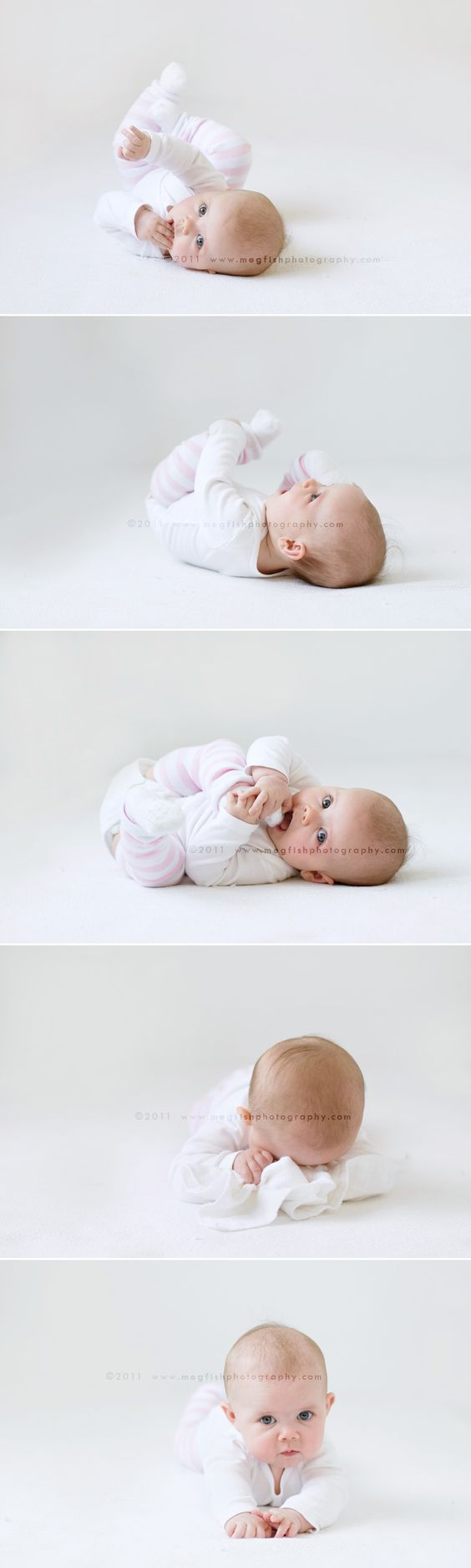 Baby's cuteness speaks for itself. No props needed. :)