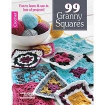 99 Granny Squares - Front Cover