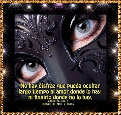 SUEÑOS DE AMOR Y MAGIA: No hay disfraz