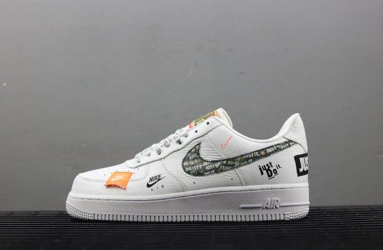 Nike Air Force 1 Af1 Just Do It White Ar7719 100