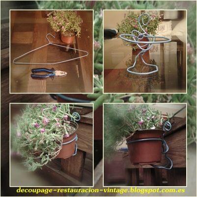 Colgar maceteros garden ideas ideas para jard n - Macetas para colgar ...