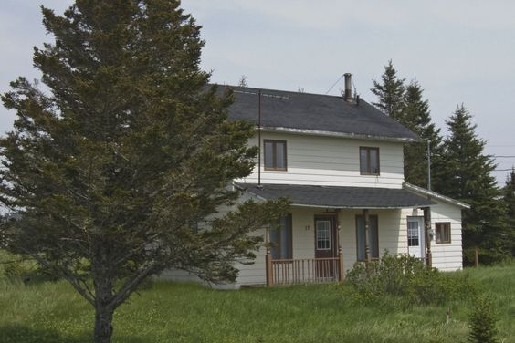 La maison où est né et a grandi Gilles Vigneault à Natashquan.