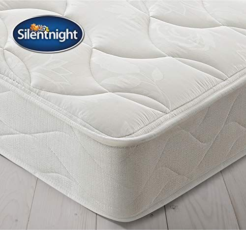Silentnight Sprung Mattress Zoned Spring System Quilted Cover