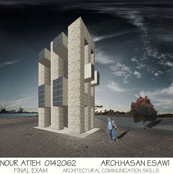 Nour Atieh‎ Architectural Communication Skills-:
