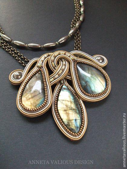 """Колье, """"Hypnose"""". Handmade.:"""