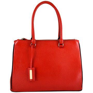 Ellen Handbag Red now featured on Fab.