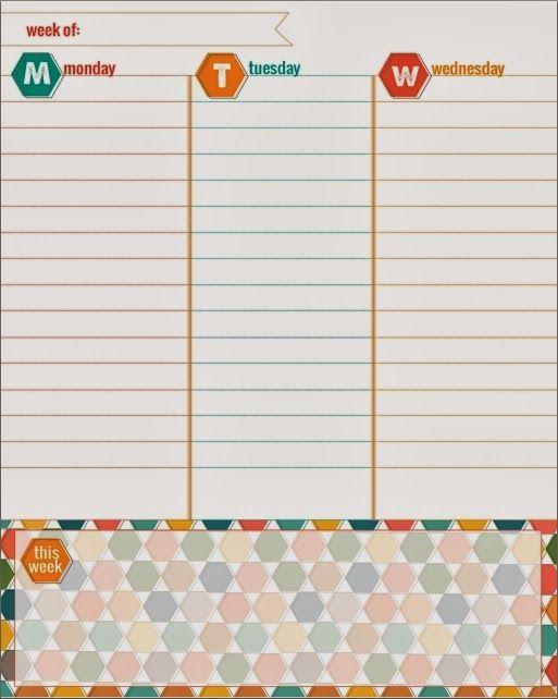 Uma seleção dos melhores planners e calendários 2014 para você baixar e se organizar.