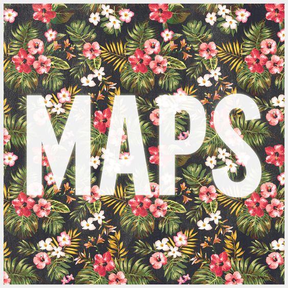 Maroon 5 – Maps (single cover art)