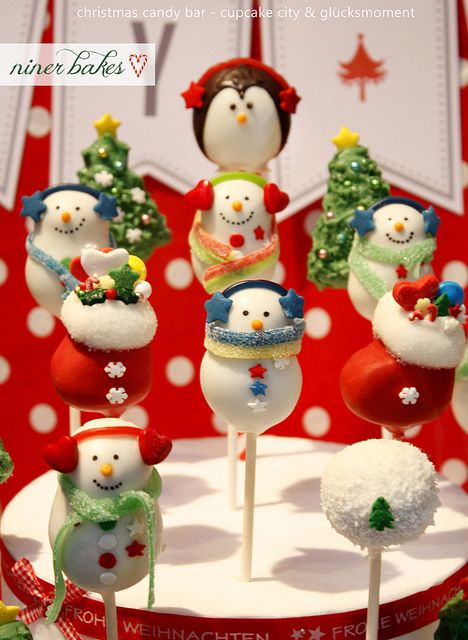 These cake pops are adorable and relatively simple