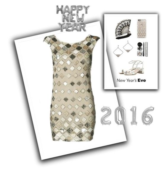 """Happy 2016 new year!"" by im-karla-with-a-k ❤ liked on Polyvore featuring Miu Miu, Bobbi Brown Cosmetics, Casetify and Judith Leiber"