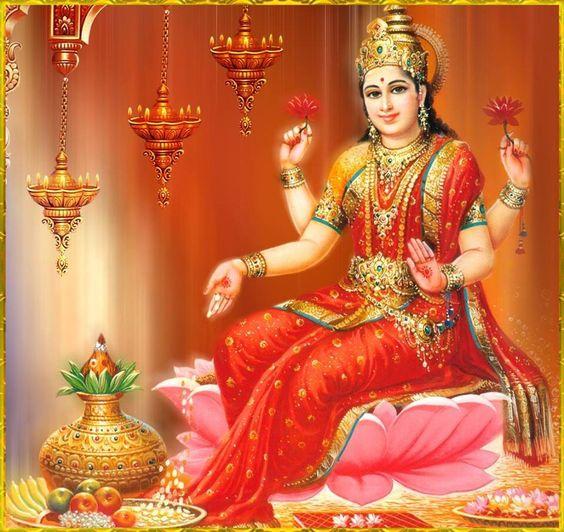 Image result for King Bali and Goddess Lakshmi