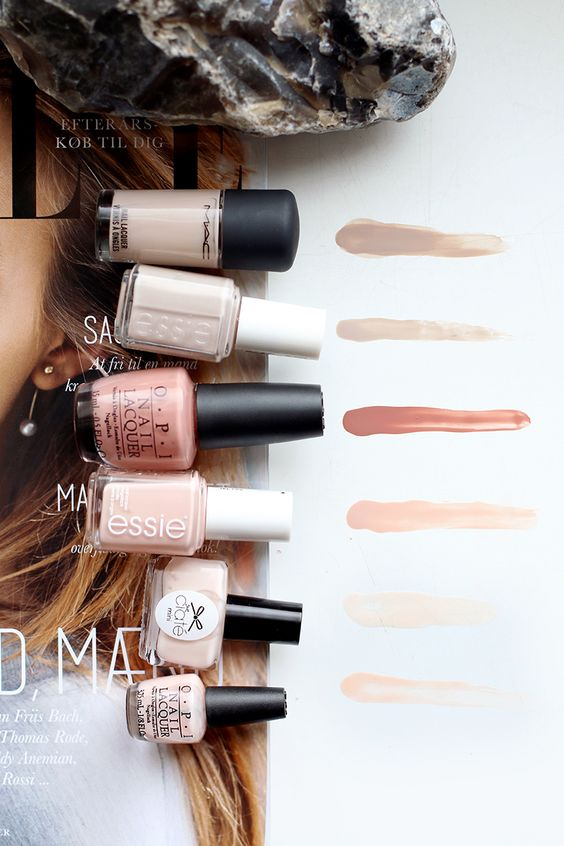 teetharejade » Blog Archive Nailpolish: The Ultimate Nudes - teetharejade