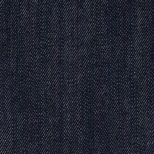Dark Indigo 15 10 Ounce Stretch Denim Woven Fabric Woven Fabric Stretch Denim Dark Indigo
