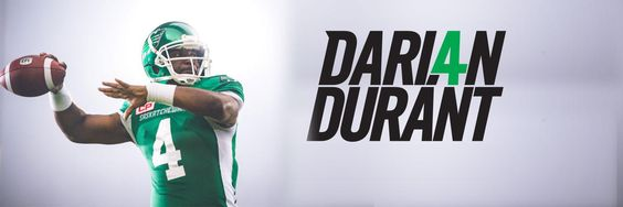 TOUCHDOWN #RIDERS @dariandurant calls his own number & rushes 4 yards into the end zone... not once, BUT TWICE (2 PT Convert!) TIE GAME! 09/04/16