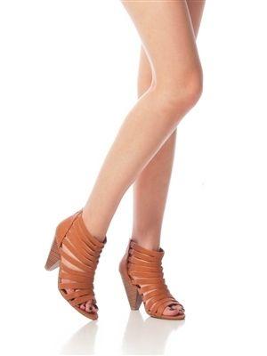 Bamboo Gladiator Heels!