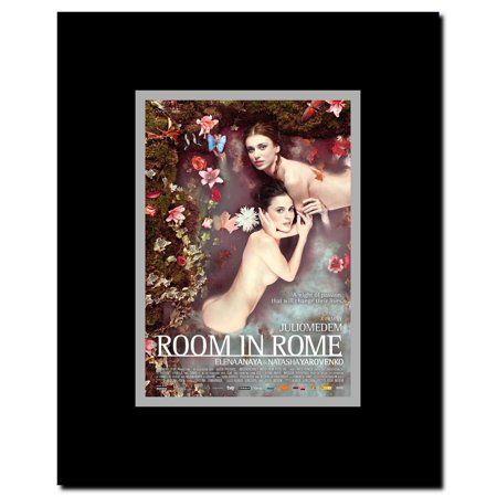 Room In Rome Framed Movie Poster Walmart Com In 2020 Movie Posters Frame Rome Movie