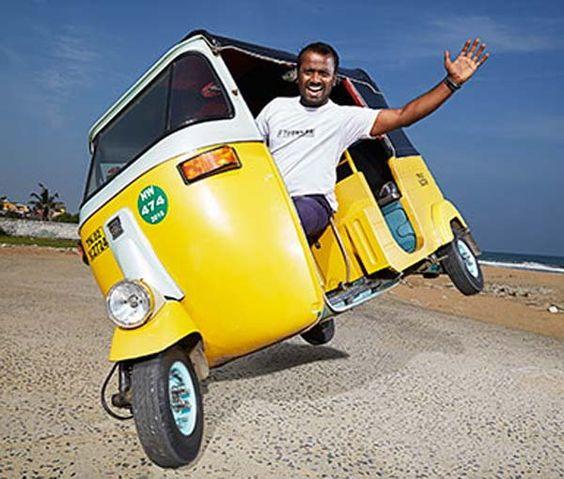 Auto Driver Jagdish, Chennai