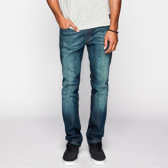 Levi's 513 Mens Slim Straight Jeans Midnight  In Sizes
