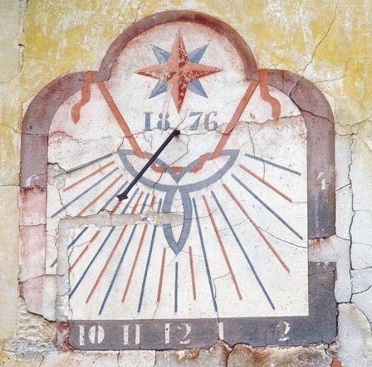 logis du cadran solaire à Perouges Ain Rhône-Alpes