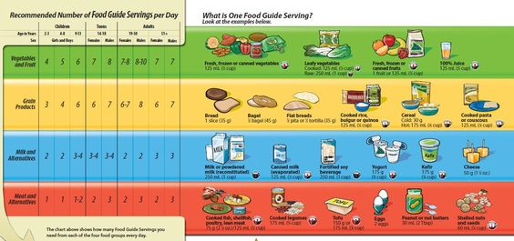 A Nutritionist S Take On Canada S Food Guide Food Guide Canada Food Guide Canada Food