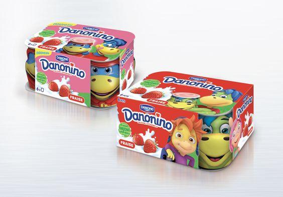 Danon Danonino Yogurt