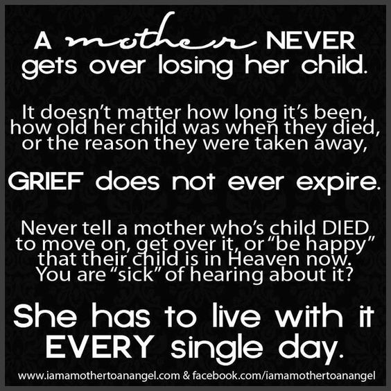 Quotes For A Mother Who Lost Her Baby: Mother Grieving Loss Of Child - Http
