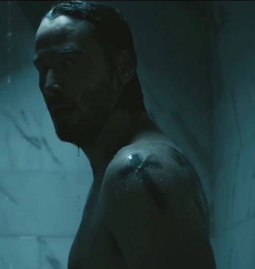 John wick keanu reeves and shoulder tattoo on pinterest for John wicks back tattoo