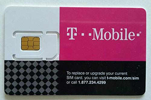T Mobile Prepaid Sim Card Unlimited Talk Text And Data In Usa