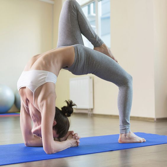6 Yoga Poses to Help You Train Like an Athlete: Yoga is certainly about the spiritual side of things, but it is absolutely possible to build plenty of strength and tone the body with the right poses.