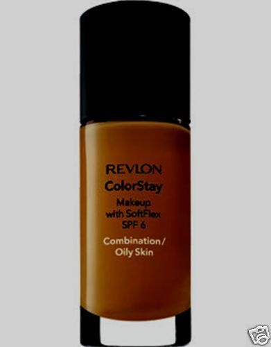 Revlon ColorStay Foundation Makeup Combo Oily Skin - Mahogany 440 #Revlon #FaceMakeup