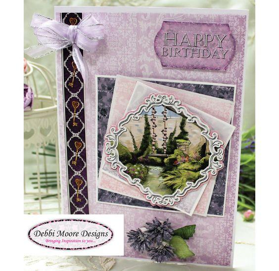 Enchanted Garden Card - CreateAndCraft