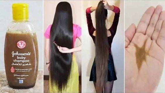 وصفة شمبوان الاطفال والازير لتطويل الشعر Beauty Recipes Hair Pretty Skin Care Hair Care Oils