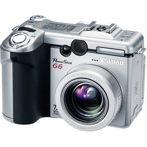 Amazon Com Canon Powershot G6 7 1mp Digital Camera With 4x Optical Zoom Point And Shoot Digital Cameras Came Best Digital Camera Digital Camera Powershot