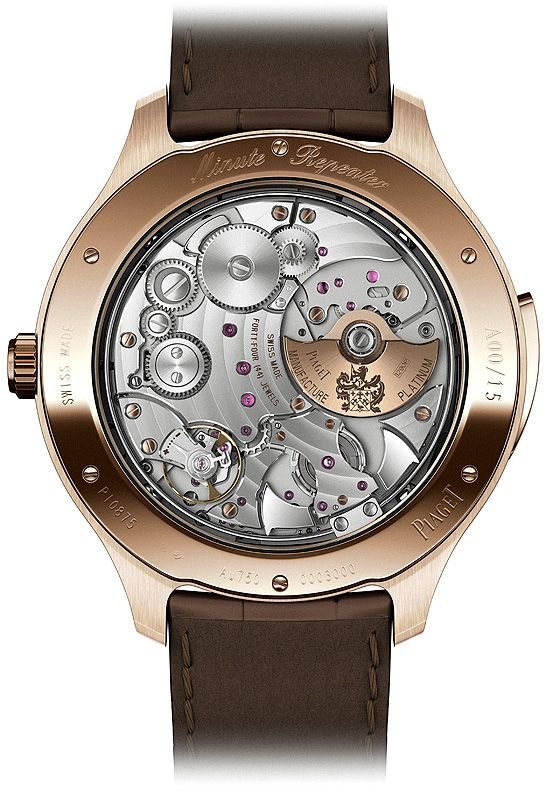 SIHH Preview: Piaget Unveils its First Minute Repeater