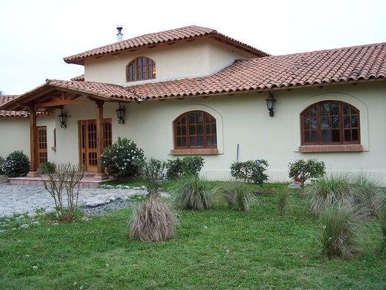 Chilean House Frentes De Casas Estilo Colonial Fotos De