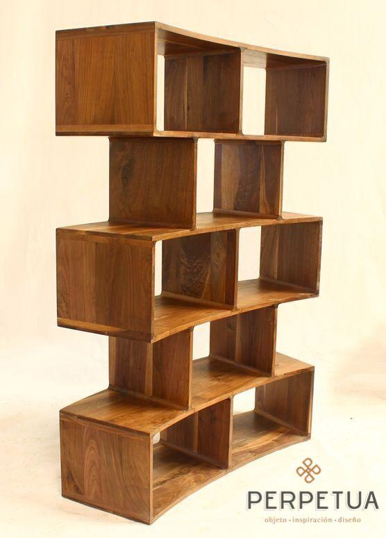 Perpetua muebles #perpetua #muebles #madera #organizador #librero #