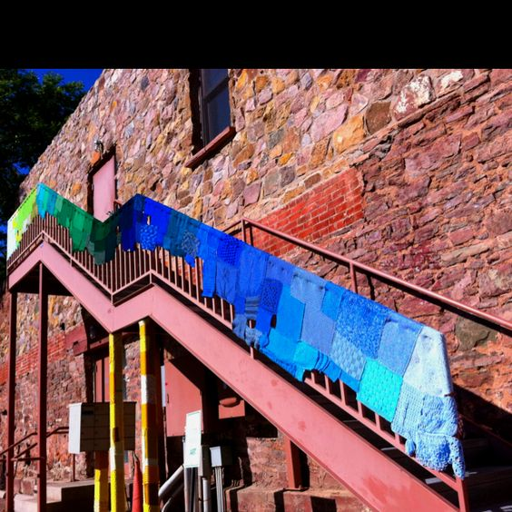 Stairs in Manitou Springs. I think this is at the Business of Art center