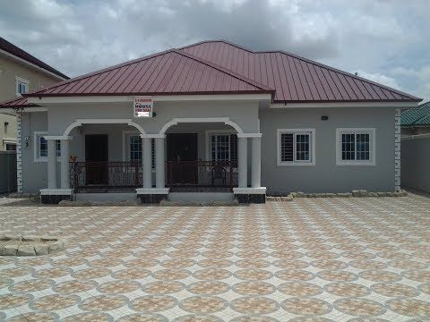 3 Bedroom House For Sale At Agbogba North Legon Accra Ghana Call Us On 0244 764282 If Int House Plan Gallery Bungalow Style House Plans Affordable House Plans