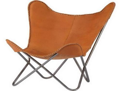 Leder Butterfly Chair Cover Schmetterling Stuhl Stuhlbezuge Stuhlhussen