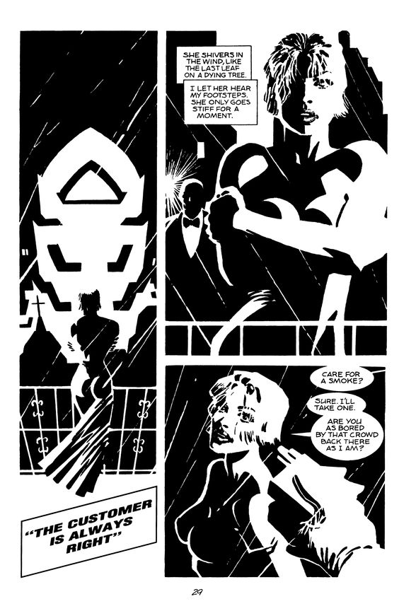 Sin City: The Customer Is Always Right page 1 by Frank Miller