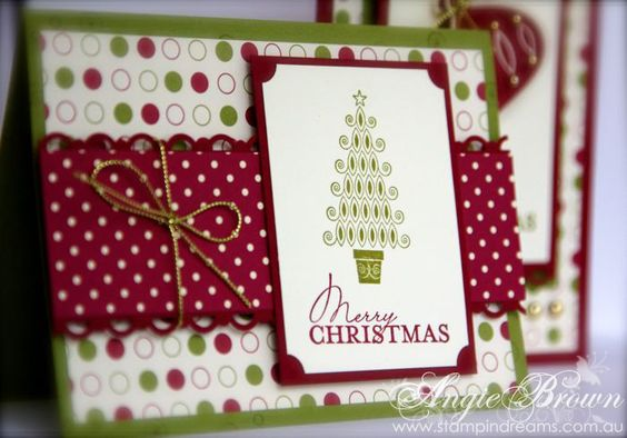 stampin up card ideas   Stampin' Dreams: Stampin' Up! Contempo Christmas Cards