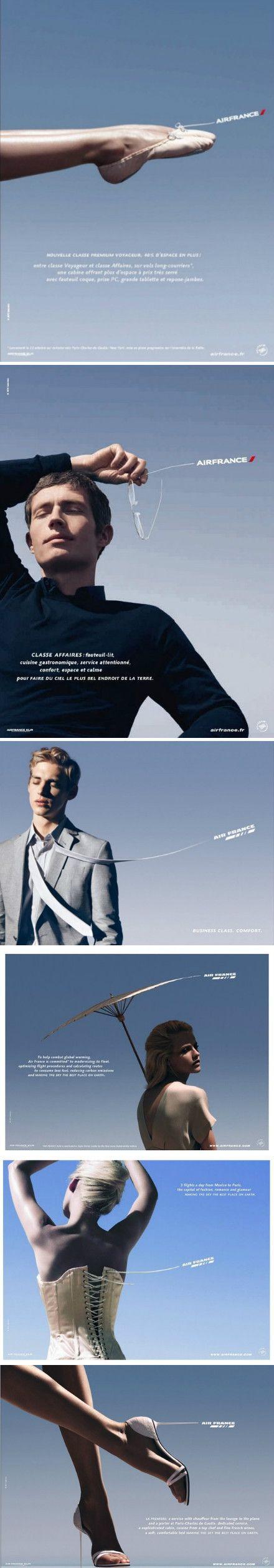 法航宣传广告片:轻盈、优雅、享受