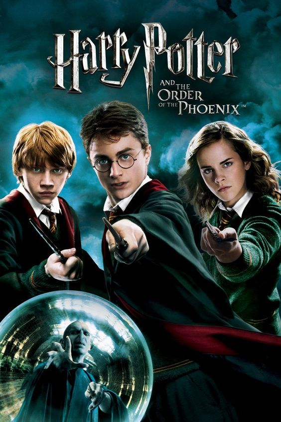 Harry Potter And The Order Of The Phoenix 2007 Harry Potter Movie Posters Harry Potter Film Harry Potter Movies