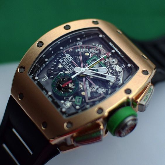 Richard Mille RM 11 01 In Rose Gold Owned By Roberto Mancini Www
