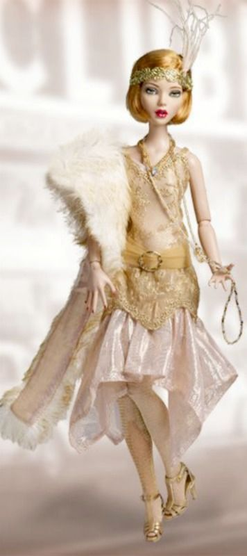 20s Flapper Barbie ~ Debbie Orcutt ❤
