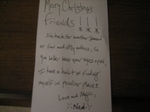 Ned's Note
