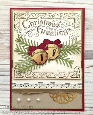 Caring for Stamps: Aftellen naar de Herfst/Winter Catalogus #18: Stampin' Up! ~ Father Christmas, Christmas Pines